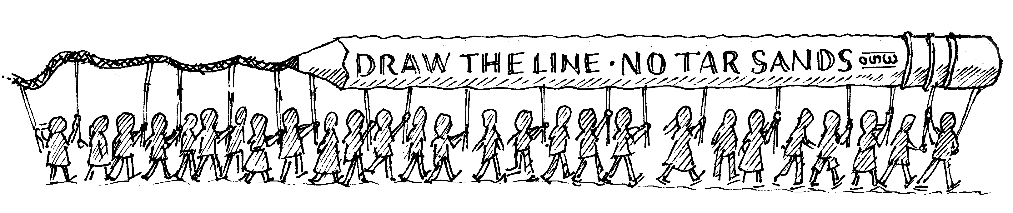 Banner Action Line Draw The Line Banner